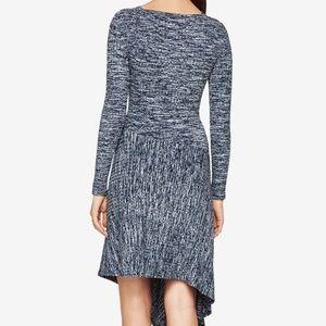 BCBGMaxAzria Dresses - High Low Dress BCBG Blue  - Good as New